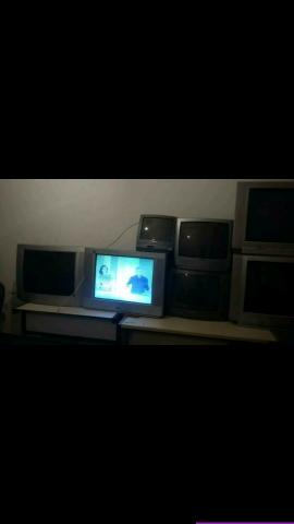 Televisores de todas as polegadas aceitamos cartão