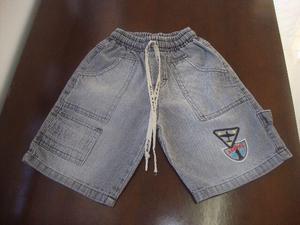 Bermudas Jeans Elástico Homem Aranha