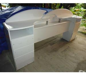 Cabeceira com 6 gavetas para cama box casal