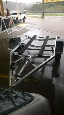 Carretas para barco de aluminio a partir de