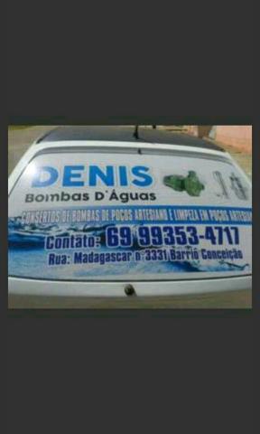 Denis conserto e instalaçao em bombas poços artesiano