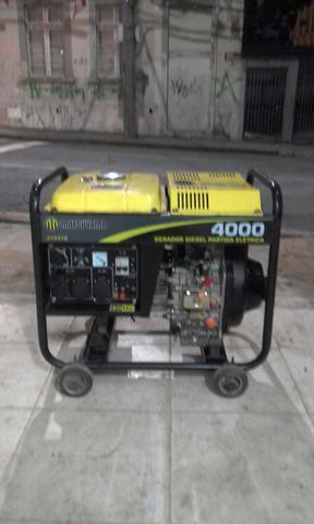 Gerador de energia diesel matsuyama w