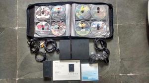 PlayStation 2 Slim, Semi novo, Funcionando tudo