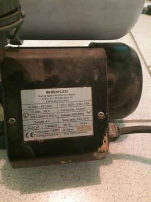 Pressurizador de agua lorenzetti