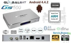 Receptor Globalsat GS 500 HD 4k.lancamento.