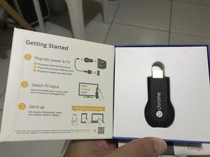 ChromeCast Google - Transforme Sua TV em Smart