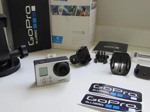 Gopro Hero 3 Silver Edition Wifi + Cartão 32 GB com nota