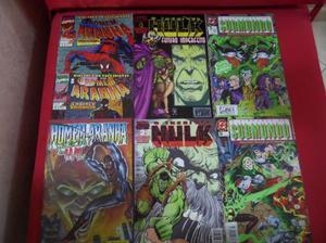 Coleção de Gibis Antigos (O Homem Aranha - Hulk -