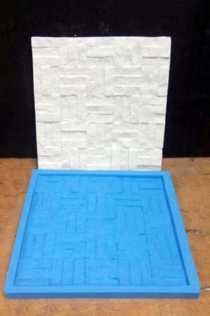 Forma de Silicone Gesso 3D Canjiquinha Retalhos Mosaico