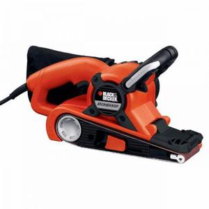 Lixadeira de Cinta Black and Decker