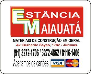 Materiais de Construção e na Estância Maiauata