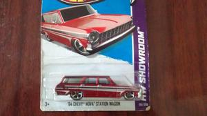Miniatura Hot Wheels Chevy NOVA 64 SW