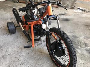 Trike Drifit  novo motor Honda biz aceito trocas.