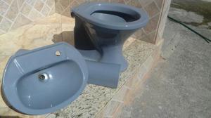 Vaso sanitario sabatini icasa  Posot Class -> Conjunto De Banheiro Vaso E Pia