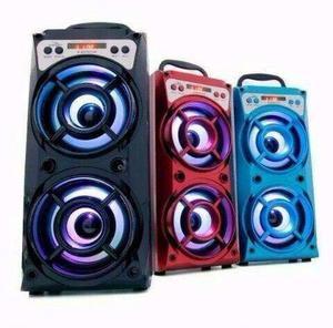 Caixa De Som Bazooca Bluetooth Usb Amplificador Mp3 Fm Sd