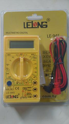 Multímetro digital para eletrônica e elétrica, novo