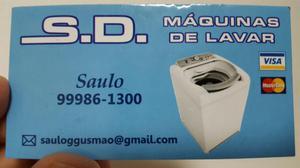 Assistência Técnica e Manutenção de Máquina de Lavar