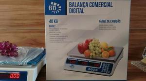 Balança Digital 40kg Ideal para Feira Mercado Açougue