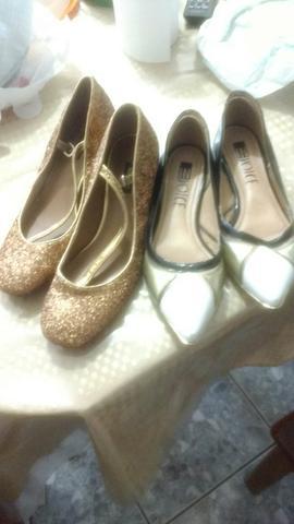 Combo 2 pares de sapatos femininos