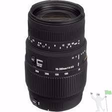 Lente Sigma mm F4-5.6 Dg Macro Para Nikon