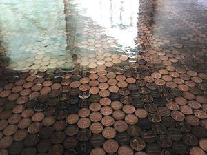 Lote de Moedas de um centavo de dólar (900)