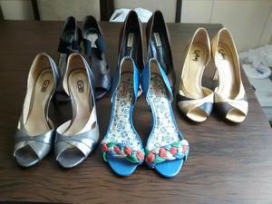 Lote de sapato feminino
