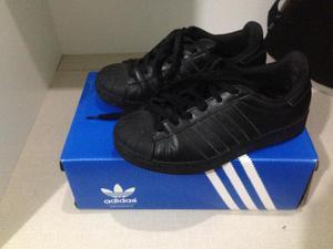Tênis Adidas Superstar - Preto