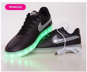 Tênis de Led das Olimpíadas Nike Preto