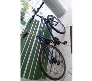 bicicleta caloi aro 26 com 21 marchas usada 4 vezes