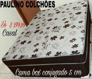Cama box conjugado CASAL NOVA (SÒ QUEM FABRICA TEM O MELHOR