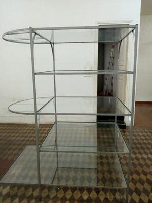 Módulo/Estrutura de ferro x vidro
