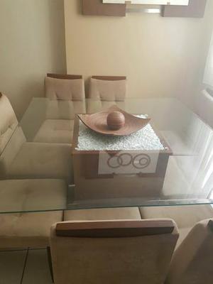 Mesa perfeita 8 cadeiras - URGENTE, abaixei pra vender logo