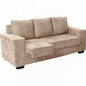 Sofa retratil diamante 3 lugares com garantia envie seu