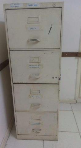 Arquivo de Aço 4 gavetas, super barato