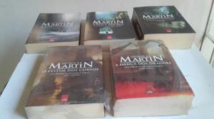 Cinco primeiros Livros - Game of Trones
