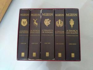 Livro Box Game of Thrones - 5 livros
