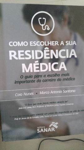 Livro: Como Escolher a Sua Residência Médica