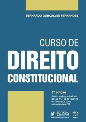 Livro Curso de Direito Constitucional - Bernardo Gonçalves