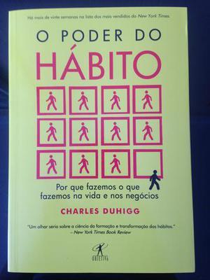 Livro O Poder do Hábito - novo