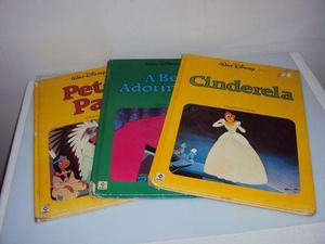 Livro Walt Disney A Bela Adormecida - Peter Pan - Cinderela