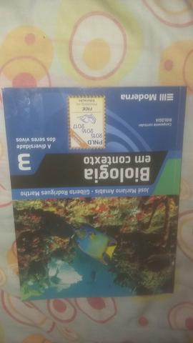 Livro de Biologia - Editora MODERNA