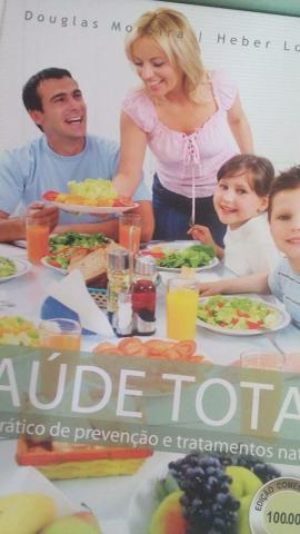 Livro saúde total e saúde na cozinha
