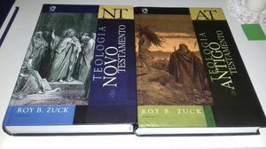 Livros de teologia e um livro a bíblia e sua história