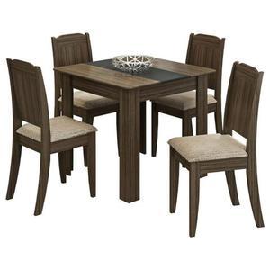 Mesa com 4 Cadeiras Suly # Pronta Entrega #