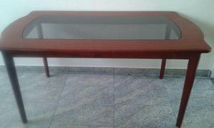 Mesa madeira sala