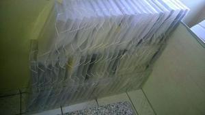 Pastas Plástica c/ elástico p/ arquivar papel. 10 Unids. R