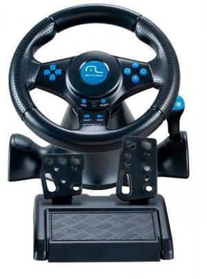 Volante Racer Com Fio 3 Em 1 Para Ps2/ps3/pc