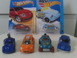 Coleção Hot Wheels VW Beetle