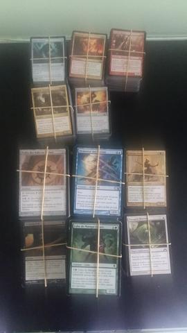 Coleção de cartas de magic - mais de