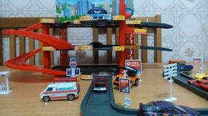 Estacionamento Miniaturas Hot Wheels